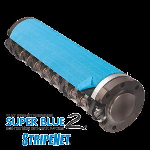 Super Blue 2 StripeNet - Precision Cut Anti-Marking Nets